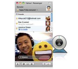 (Photo from Yahoo! Messenger features page)
