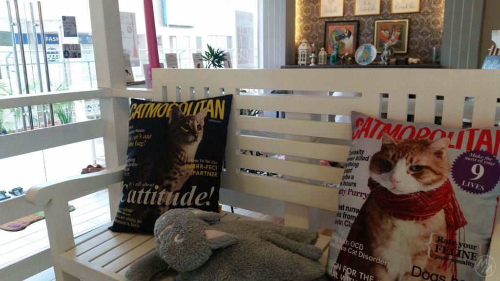 "I really love these ""Catmopolitan"" pillows."