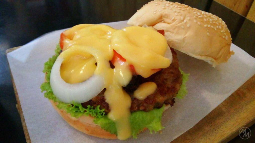 Not bad for a regular burger.