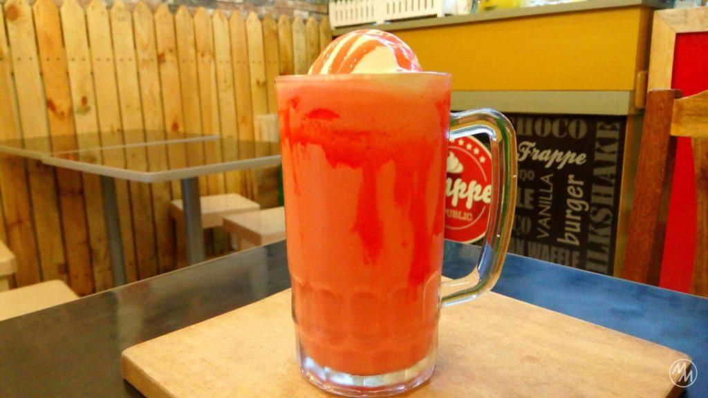 Strawberry Milkshake, anyone?