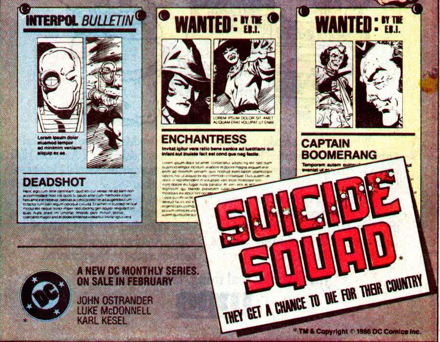 (Suicide Squad, 1986)