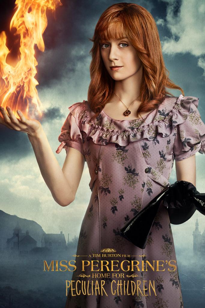 Olive (Lauren McCrostie). (Miss Peregrine's Home for Peculiar Children/ 20th Century Fox)