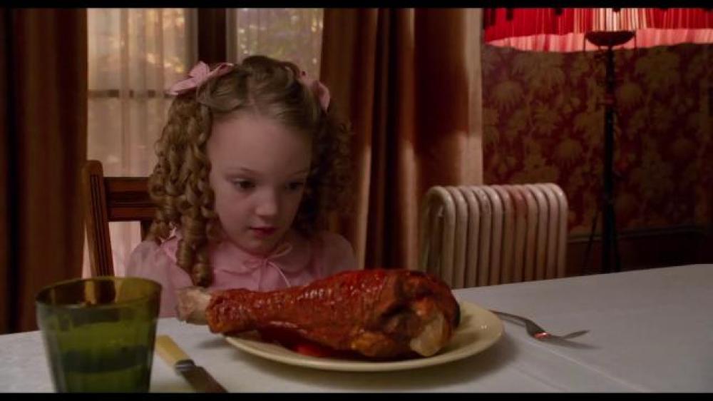 Claire (Rafiella Chapman). (Miss Peregrine's Home for Peculiar Children/ 20th Century Fox)