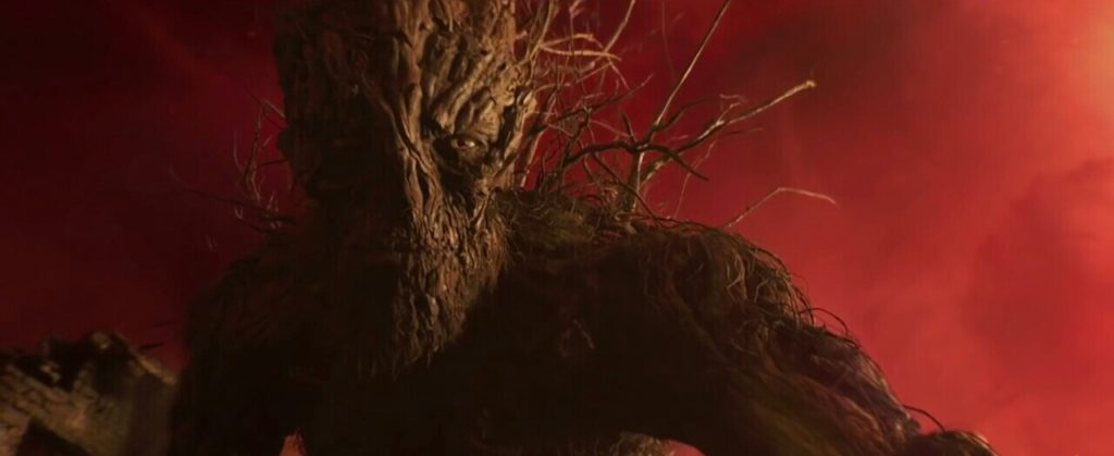 The Monster, voiced by Liam Neeson. (Scene from 'A Monster Calls' [2016])