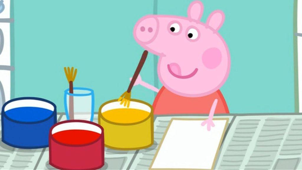 Peppa Pig (From Peppa Pig Painting Season 2 Episode 29)