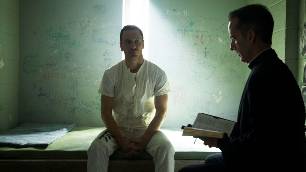 Michael Fassbender in 'Assassin's Creed'