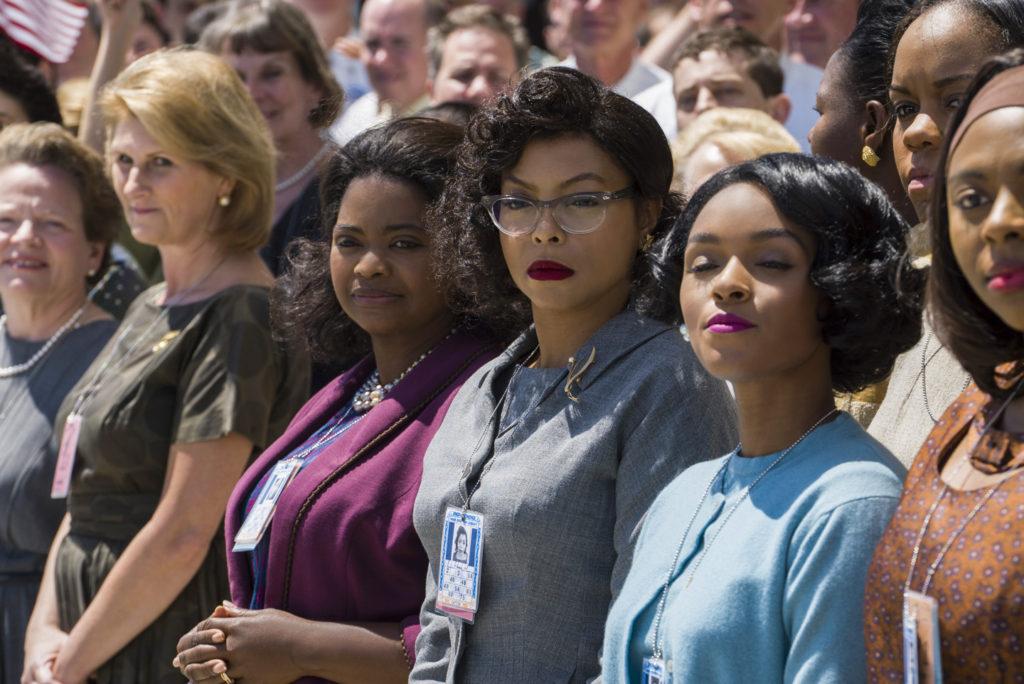 Girl power: Spencer, Henson, and Monae in 'Hidden Figures'